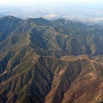 Aerial Photo Orange County CA - OC - Mountains